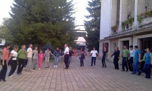 Открихме новия сезон с репетиция на площада